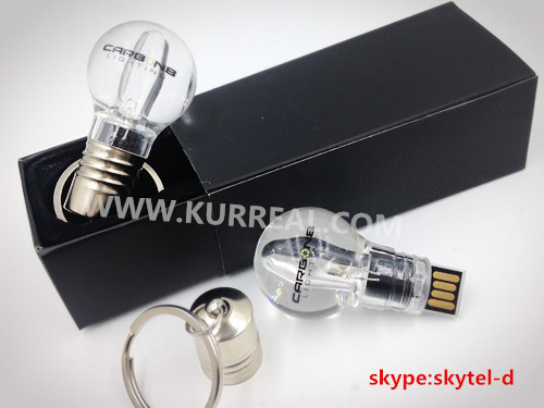 Industrial Led Lighting Companies Corporate Gifts Led Light Bulb USB Flash  Drive Memory Sticks